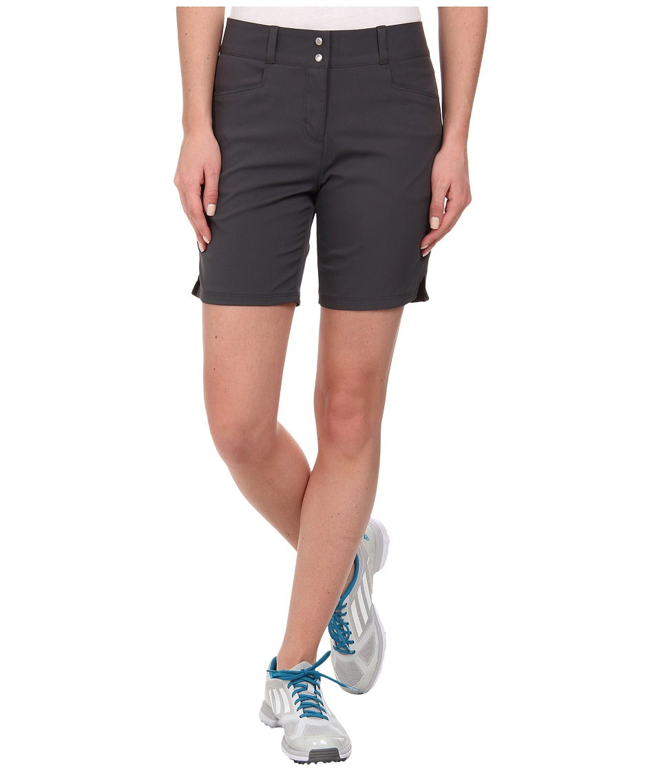adidas Golf - Essentials 7 Short '15 (Dark Grey) Women's Shorts