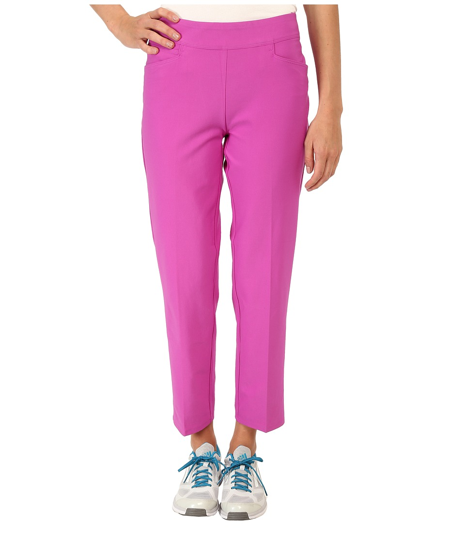 adidas Golf - Essentials Adislim ankle length Pant '16 (Flash Pink) Women's Casual Pants
