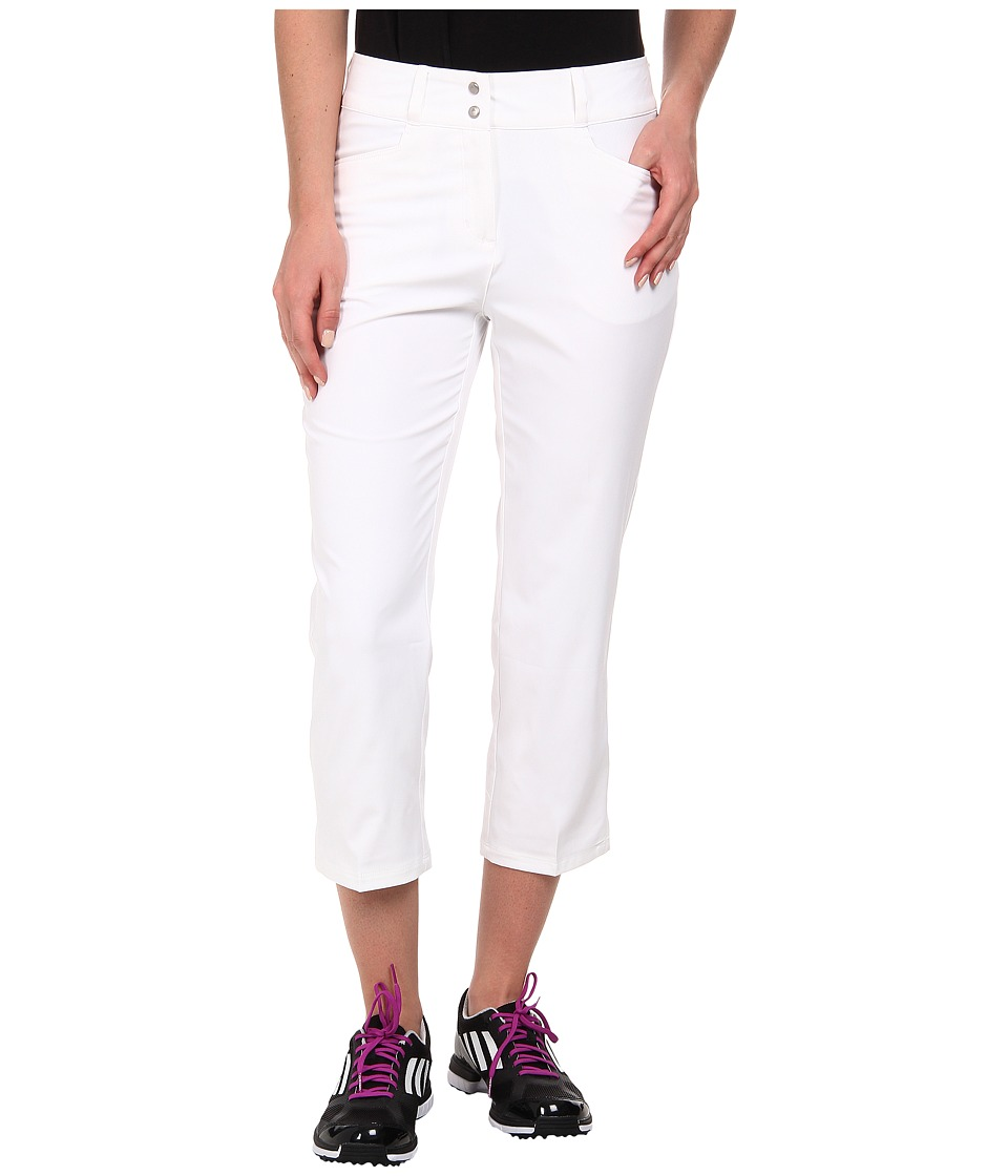 adidas Golf - Essentials Lightweight Capri '15 (White) Women's Capri