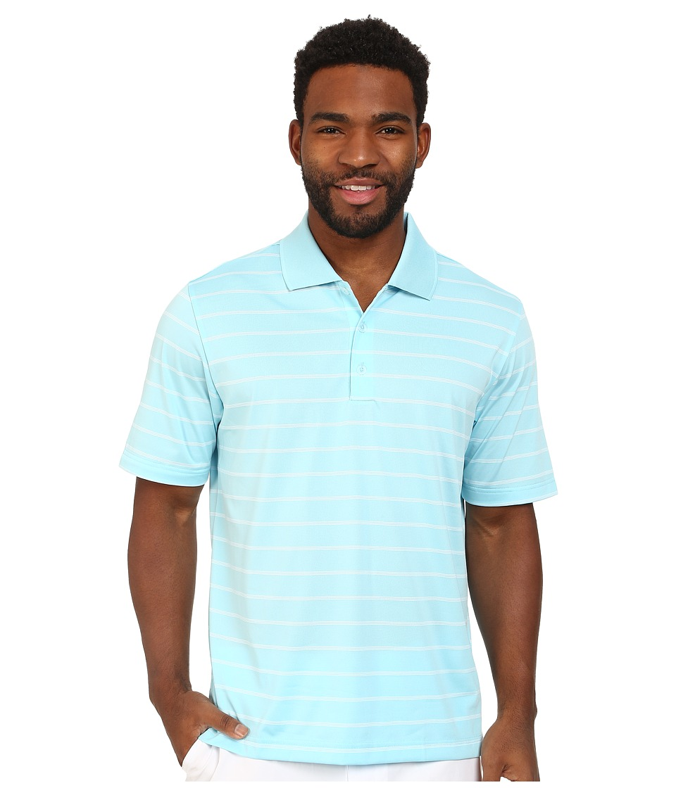 adidas Golf - Puremotion 2-Color Stripe Jersey Polo