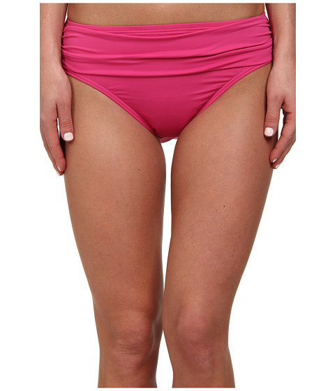 Tommy Bahama - Pearl Solids High Waist Sash Pant (Bright Pink) Women