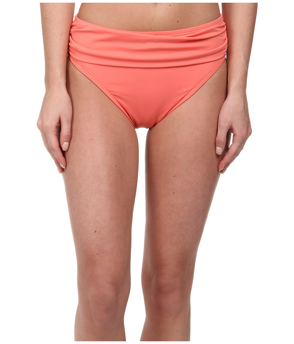 Tommy Bahama - Pearl Solids High Waist Sash Pant (Coral) Women's Swimwear
