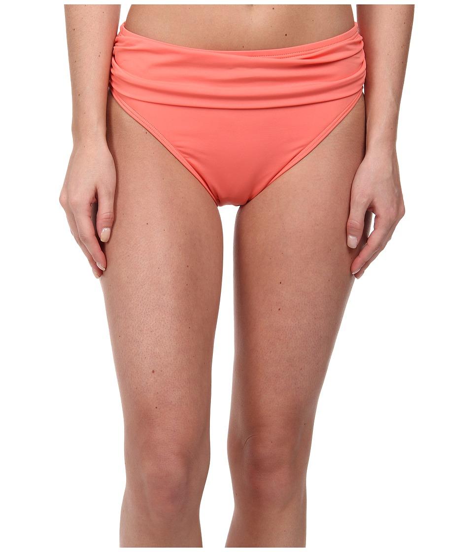 Tommy Bahama - Pearl Solids High Waist Sash Pant (Coral) Women's Swimwear