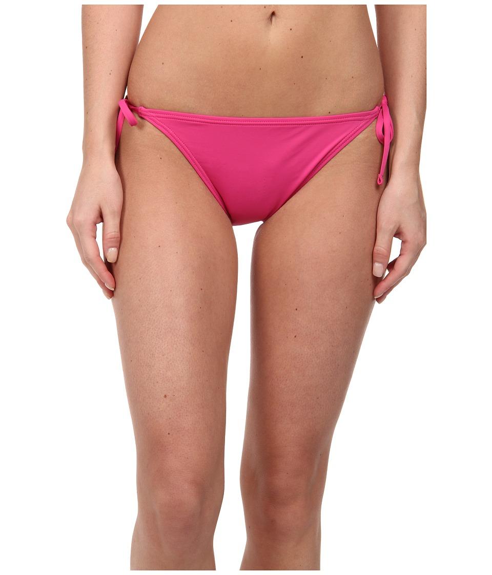 Tommy Bahama - Pearl Solids String Bikini Bottom (Bright Pink) Women's Swimwear