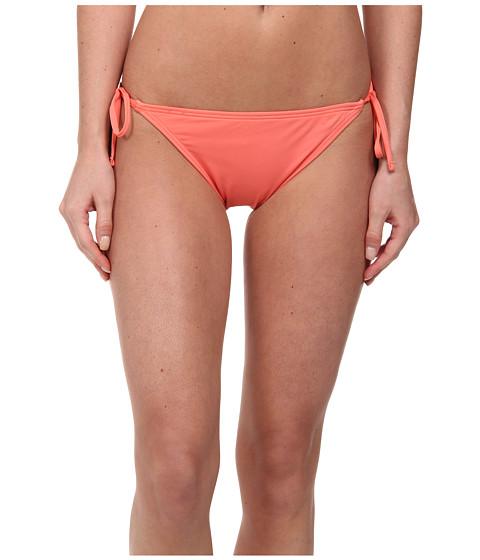 Tommy Bahama - Pearl Solids String Bikini Bottom (Coral) Women's Swimwear