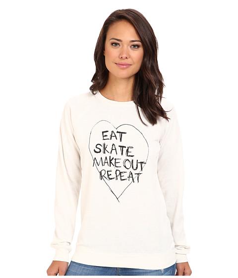 Volcom - Artshmart Crew (Cream) Women's Sweatshirt