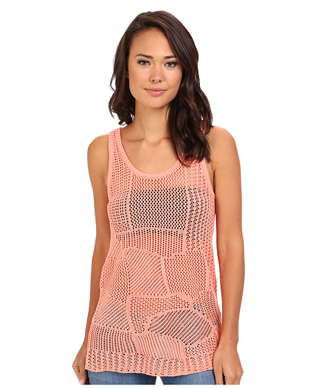 Volcom - Make U Mine Sweater Tank (Ginger) Women's Sleeveless