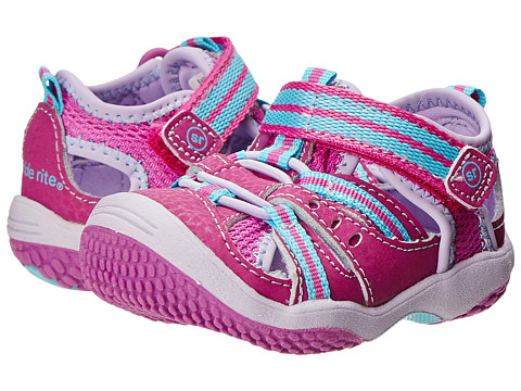 Stride Rite - Baby Petra (Infant/Toddler) (Magenta/Turquoise) Girl's Shoes