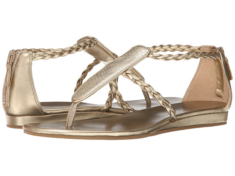 Cole Haan - Abbe Sandal (Soft Gold/Snake Print) Women's Sandals