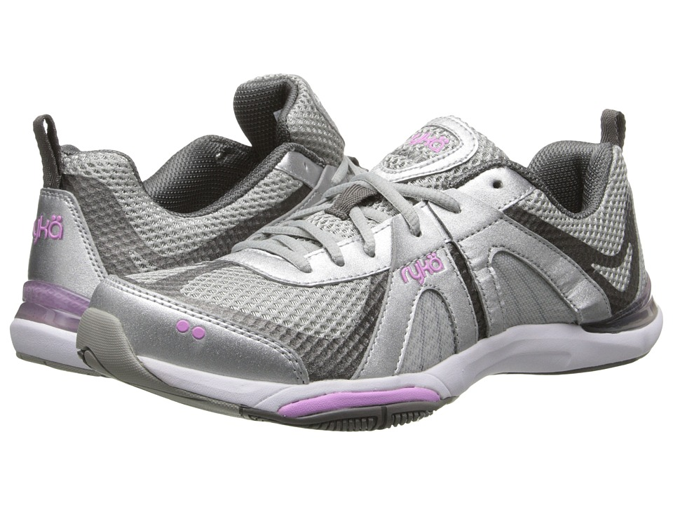 Ryka - Moxie (Silver/Grey/Lavender) Women's Cross Training Shoes