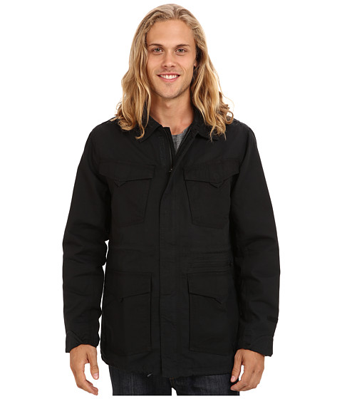 Volcom - Blaston Jacket (Black) Men's Coat