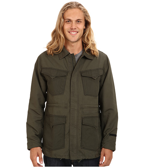 Volcom - Blaston Jacket (Fatigue Green) Men's Coat
