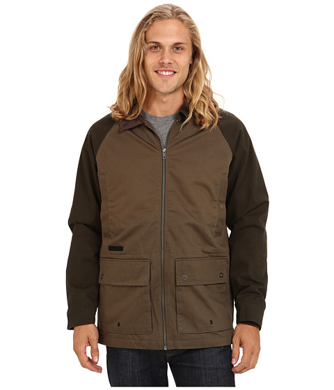 Volcom - Kornered Jacket (Dark Green) Men's Coat