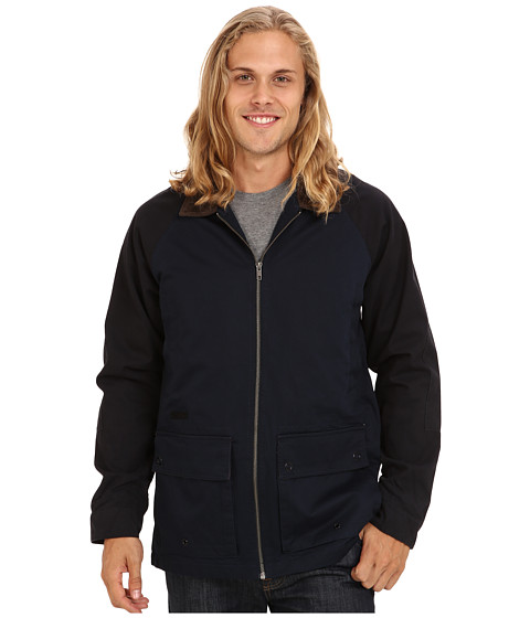 Volcom - Kornered Jacket (Black) Men's Coat