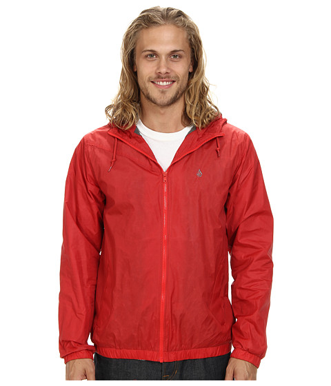 Volcom - Watch Out Jacket (Fire Red) Men
