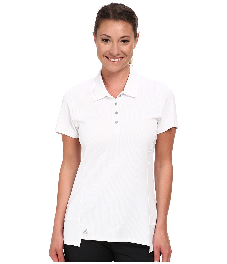 adidas Golf - Climachill Tour Short Sleeve Sport '15 (White) Women's Short Sleeve Knit