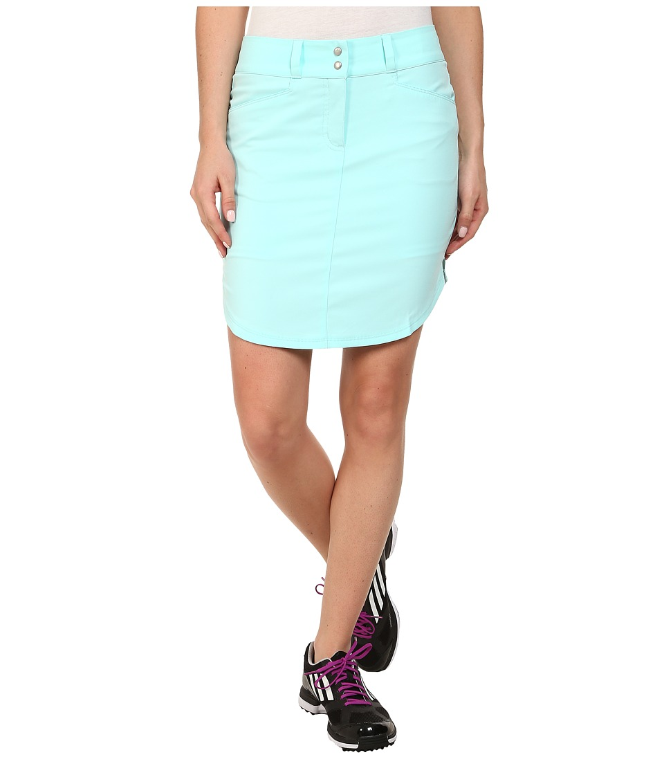 adidas Golf - Essentials 3-Stripes Skort '15 (Clear Aqua) Women's Skort