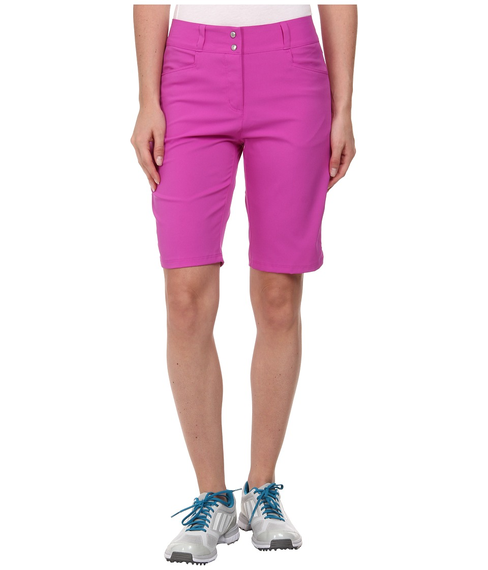adidas Golf - Essentials Lightweight Bermuda Short '15 (Flash Pink) Women's Shorts