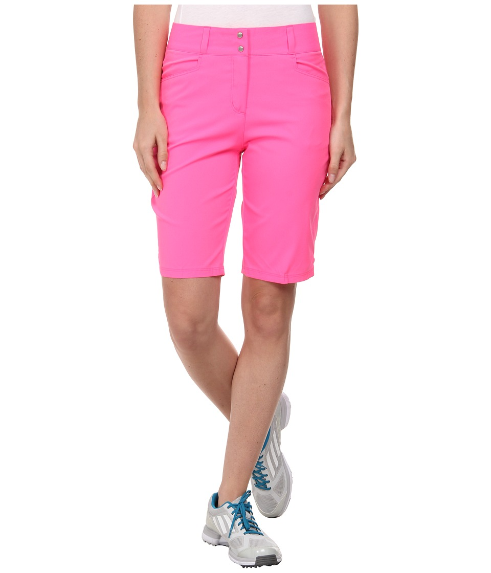 adidas Golf - Essentials Lightweight Bermuda Short '15 (Scorch Pink) Women's Shorts