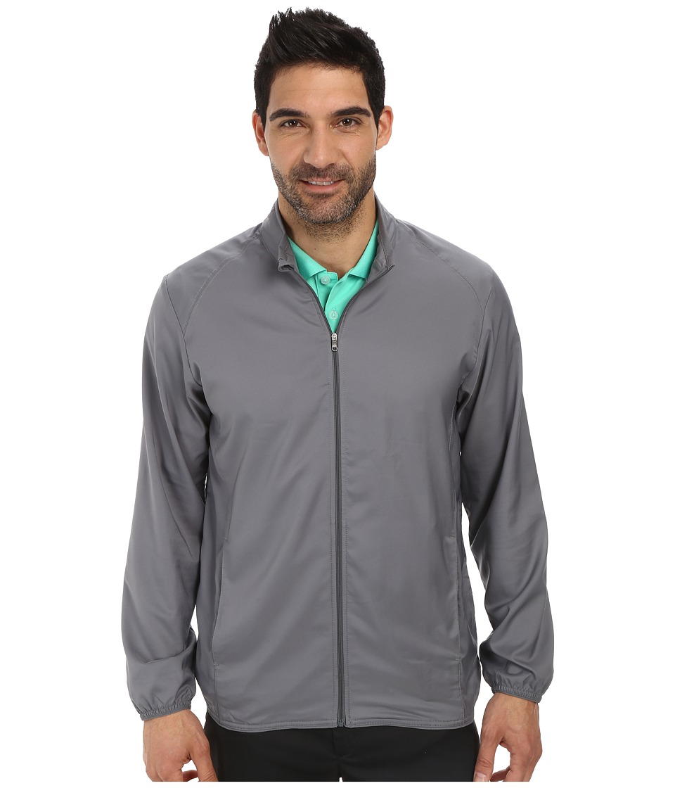 adidas Golf - Essential Solid Wind Jacket (Vista Grey) Men