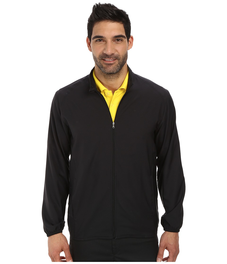 adidas Golf - Essential Solid Wind Jacket (Black) Men's Coat