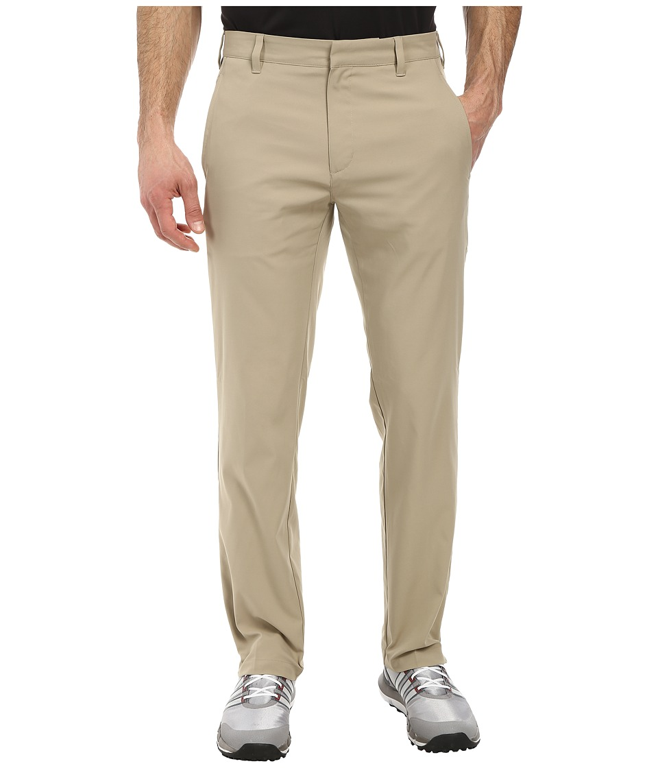 adidas Golf - Puremotion Stretch 3 Stripes Pant (Khaki/Khaki) Men's Casual Pants