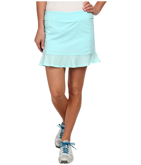 adidas Golf - Tour Mesh Skort '15 (Clear Aqua) Women's Skort