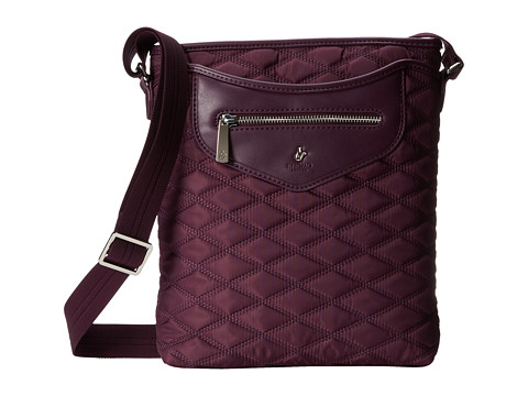 KNOMO London - Maple Cross Body Tablet Bag (Aubergine) Cross Body Handbags