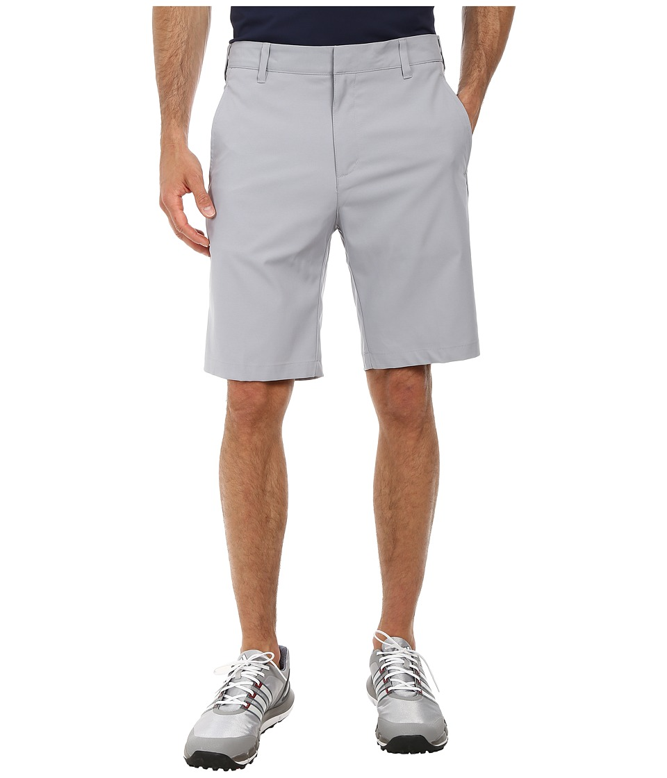 adidas Golf - Puremotion Stretch 3 Stripes Short (Mid Grey/Vista Grey) Men's Shorts