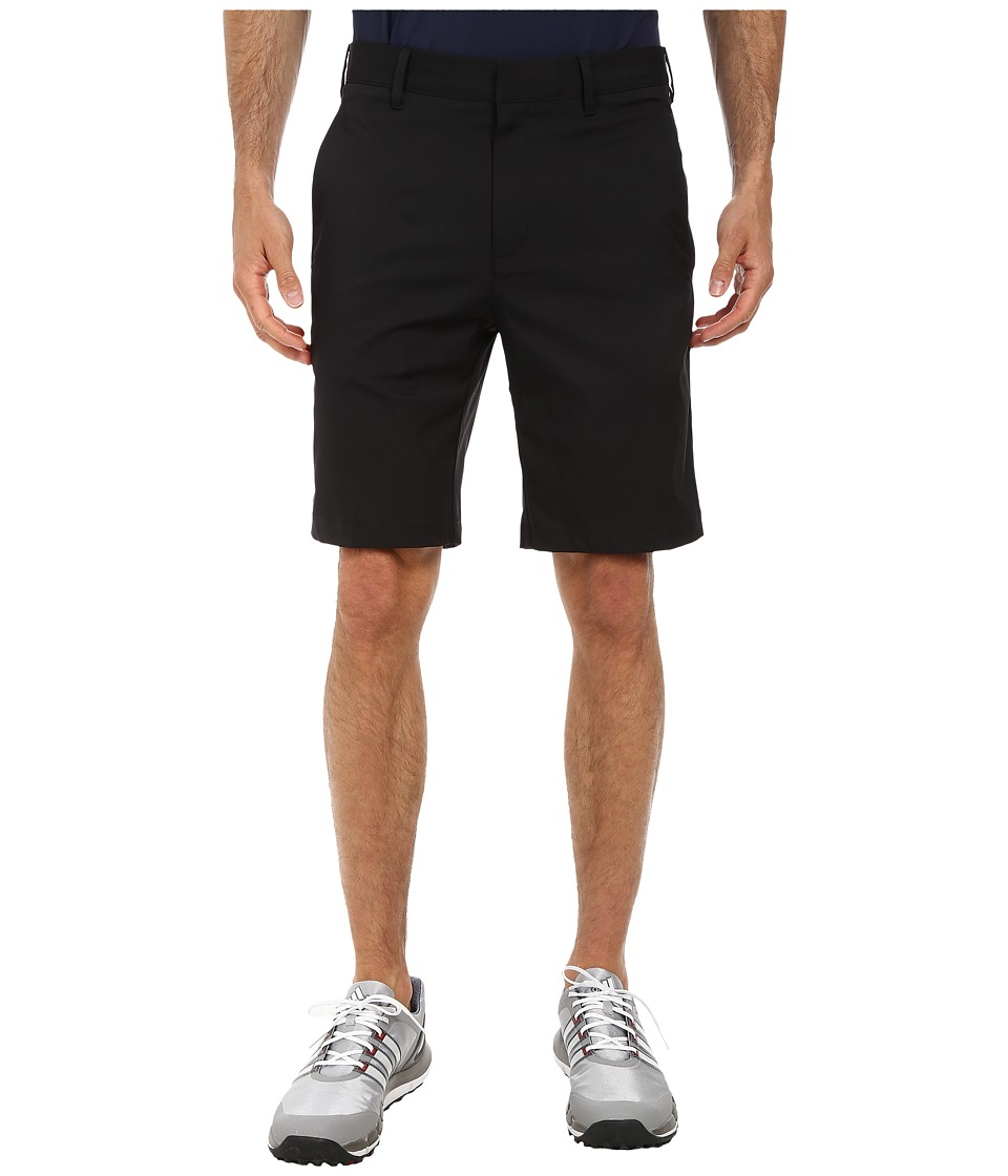 adidas Golf - Puremotion Stretch 3 Stripes Short (Black/Vista Grey) Men's Shorts