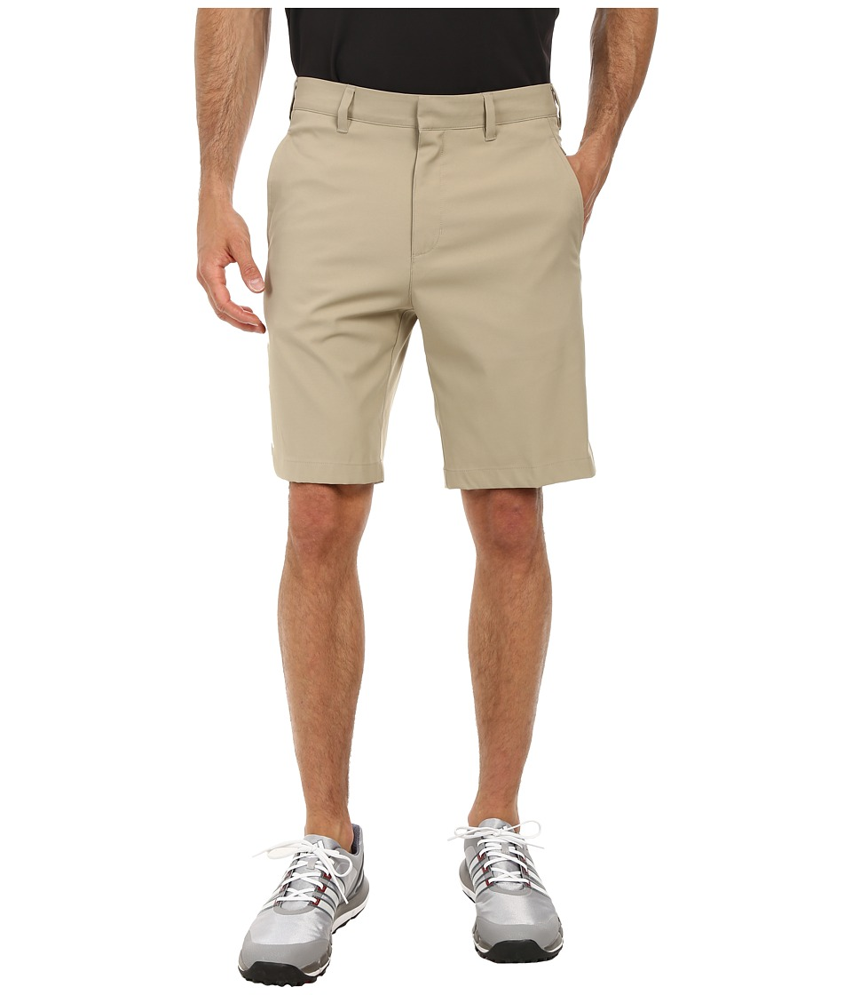adidas Golf - Puremotion Stretch 3 Stripes Short (Khaki/Khaki) Men's Shorts