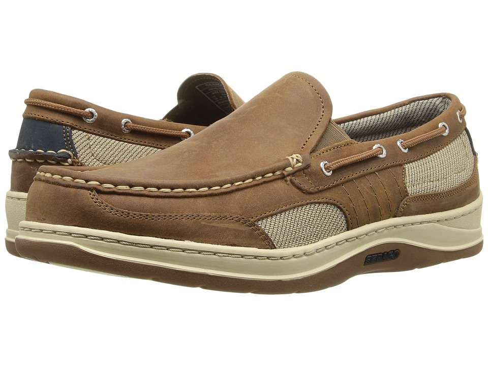 Sebago - Clovehitch Slip-on (Walnut Leather) Men's Slip on Shoes