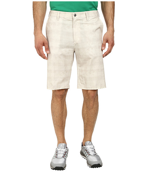 adidas Golf - Puremotion Stretch Graphic Short (Ecru) Men's Shorts