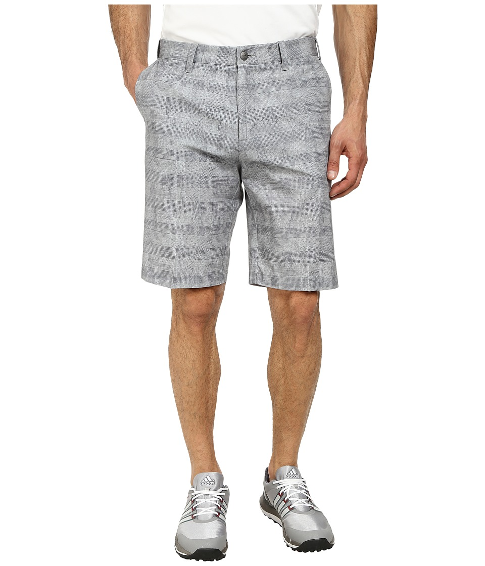 adidas Golf - Puremotion Stretch Graphic Short (Mid Grey) Men's Shorts