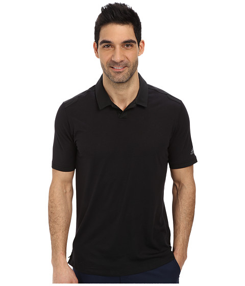 adidas Golf - Travel Elements Polo (Black) Men