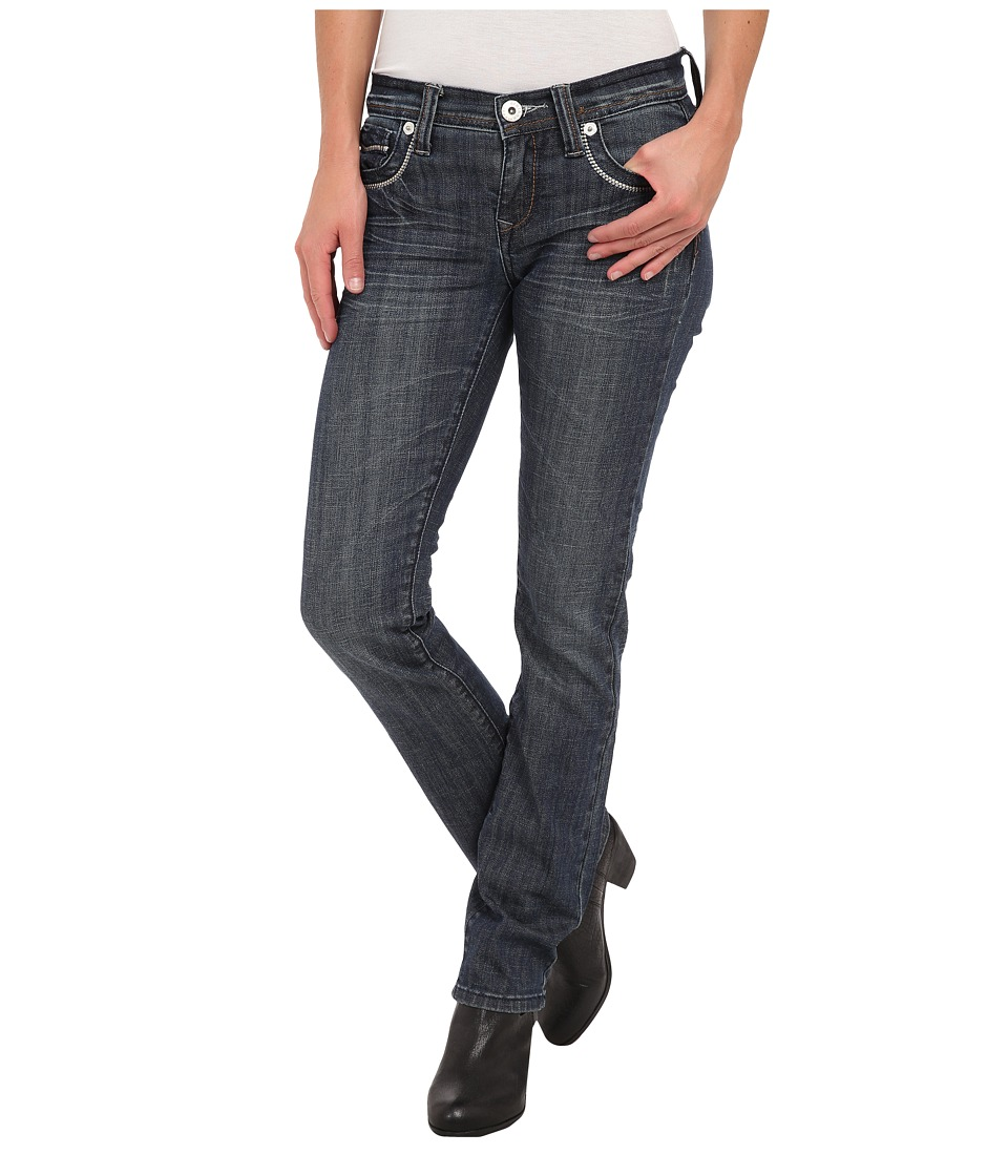 Stetson - 541 Stovepipe Fit Art Deco (Blue) Women's Jeans