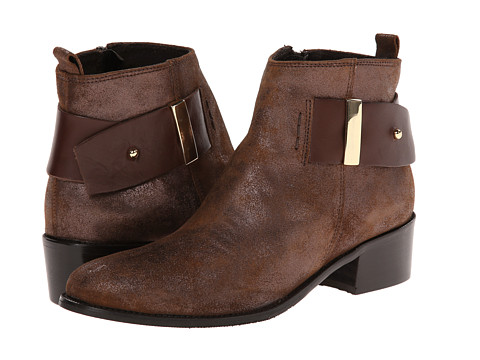 Summit White Mountain - Alessia (Cigar ESP Suede) Women's Zip Boots