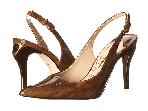 J. Renee - Alsen (Bronze Patent) Women's Sling Back Shoes