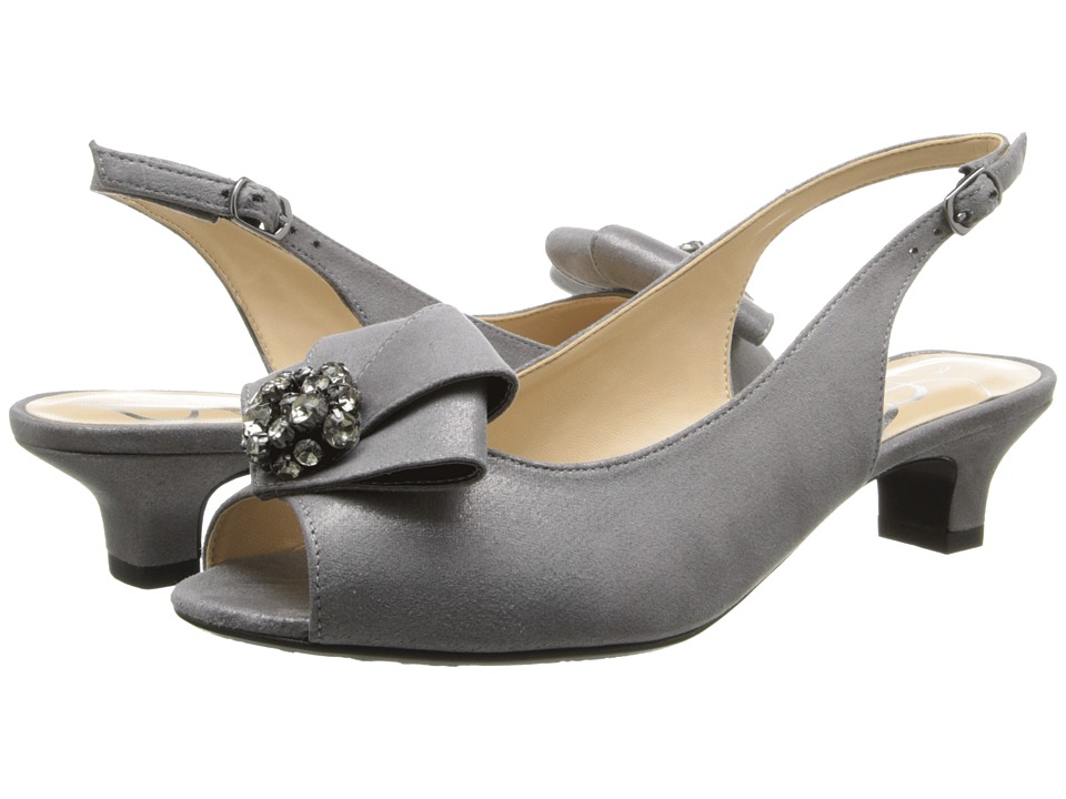 J. Renee Jadan (Dark Taupe Glimmer Satin) Women