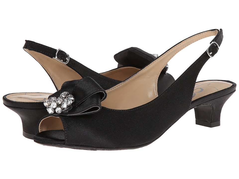 J. Renee Jadan (Black Glimmer Satin) Women