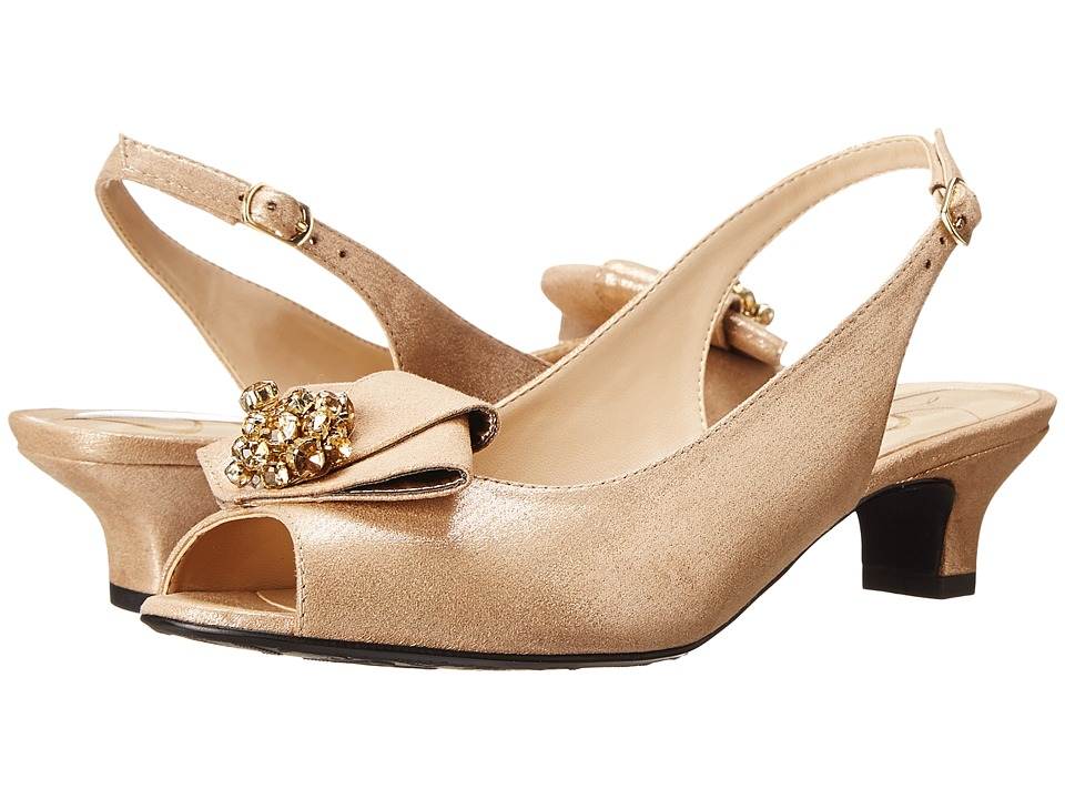 J. Renee Jadan (Savanna Gold Glimmer Satin) Women