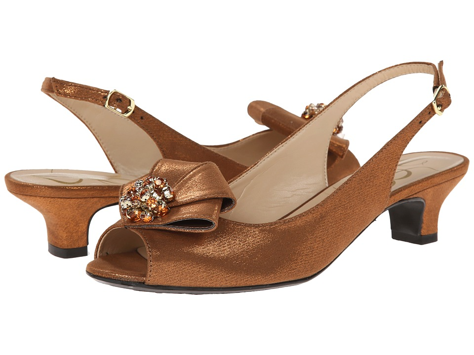 J. Renee Jadan (Bronze Glimmer Satin) Women