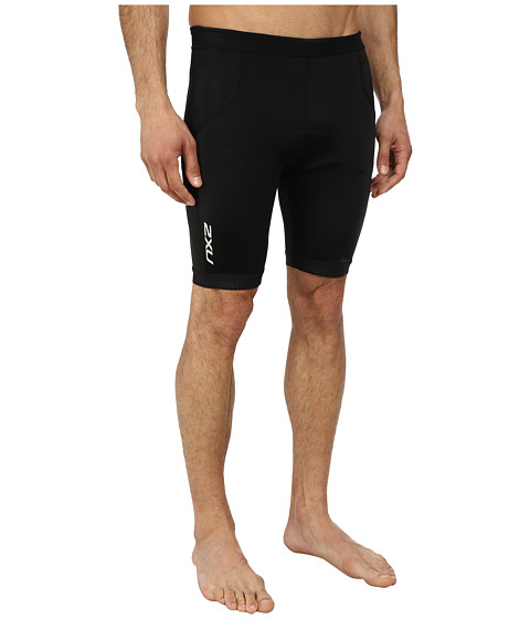 2XU - G:2 Active Tri Short (Black/Black) Men's Shorts