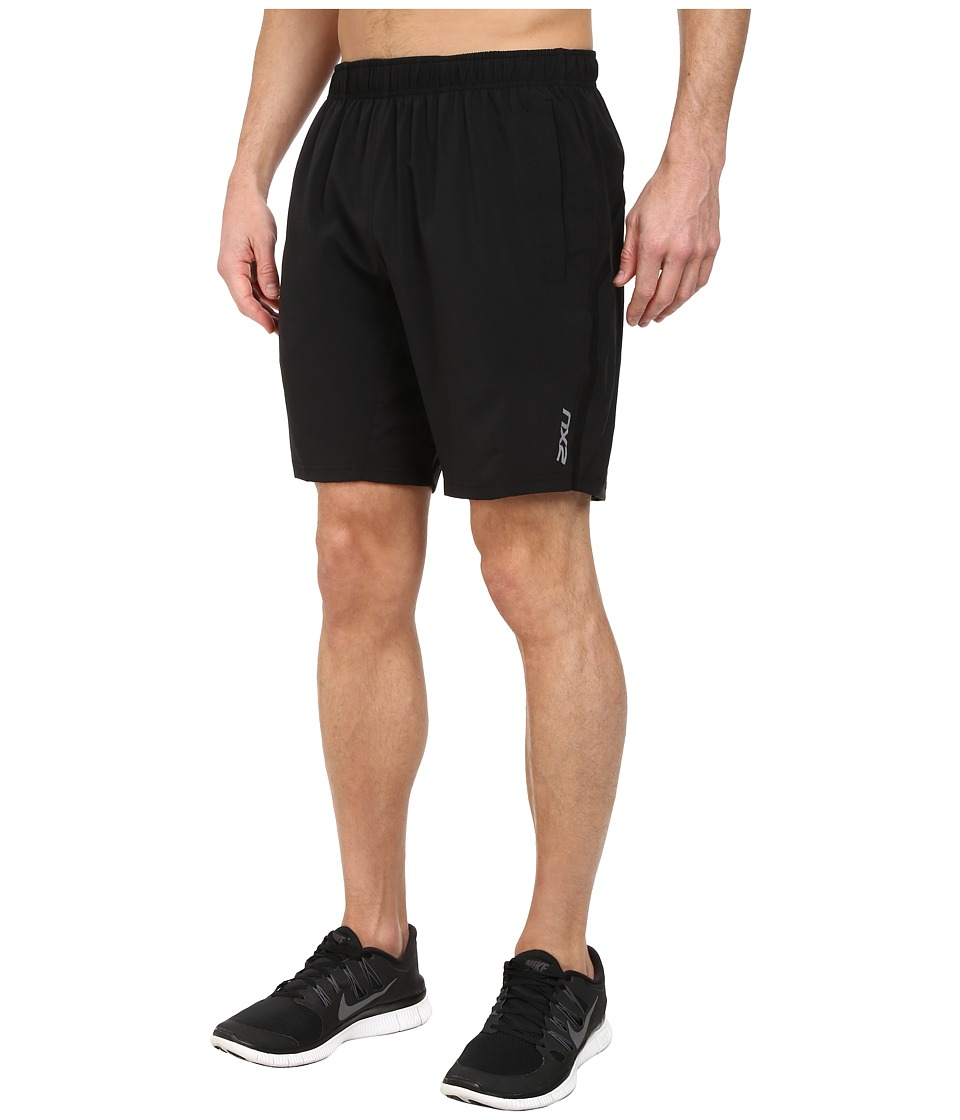 2XU - Balance Short (Black/Black) Men's Shorts