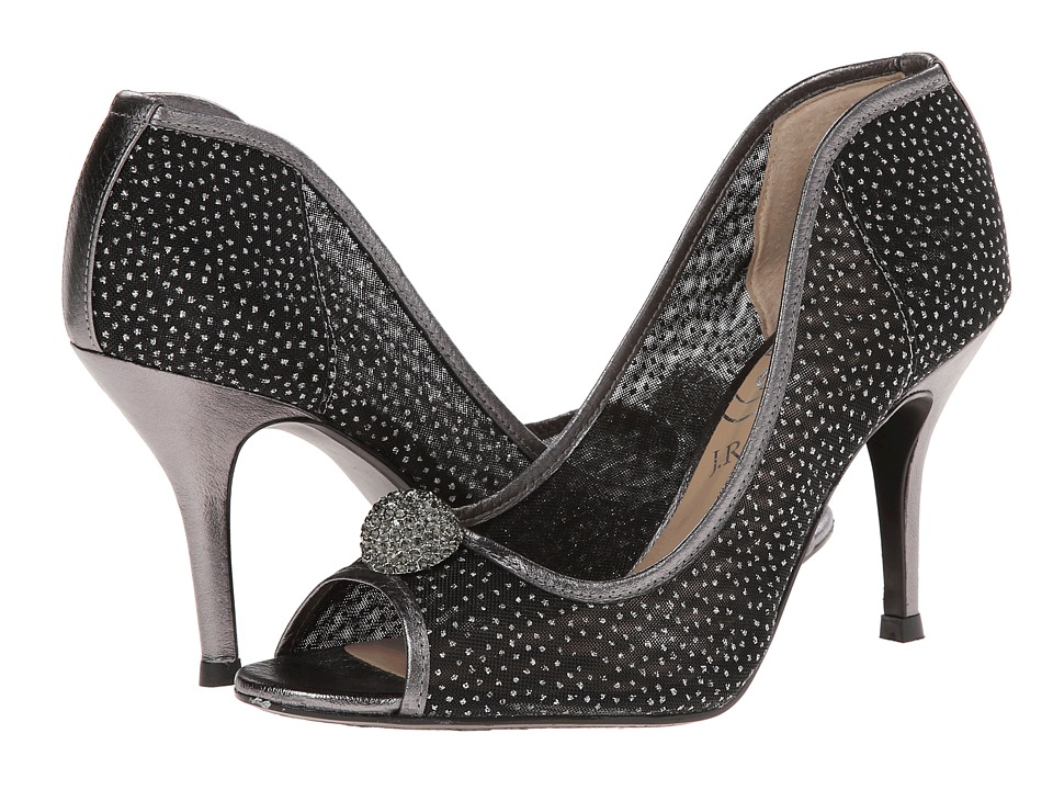 J. Renee Genette (Pewter Fabric/Nappa) High Heels