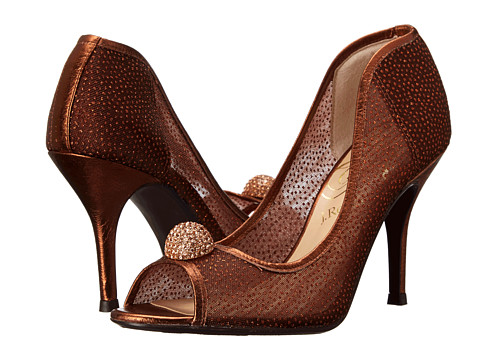 J. Renee - Genette (Copper Fabric/Nappa) High Heels