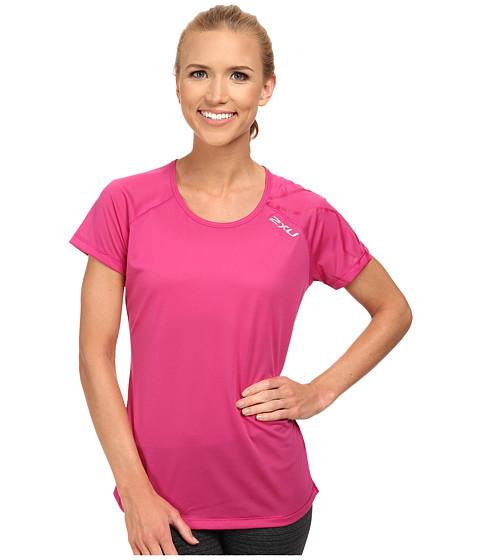 2XU - GHXST Short Sleeve Top (Magenta/Magenta) Women