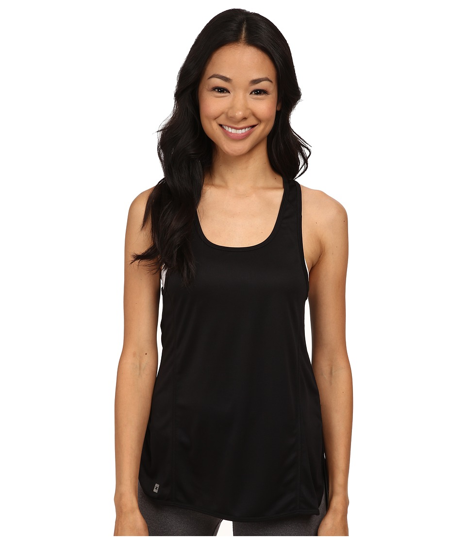 2XU - Air Racerback (Black/Black) Women's Sleeveless