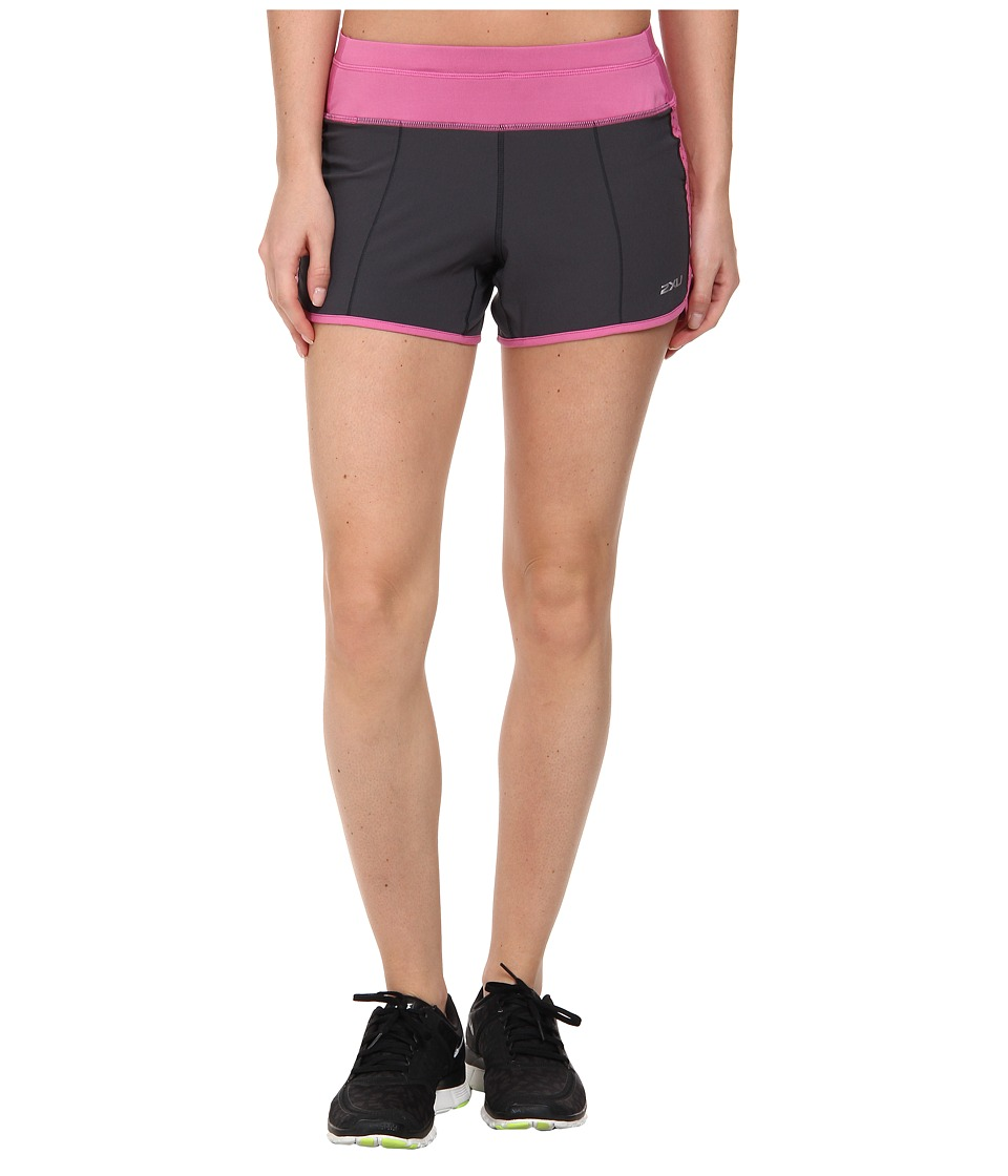 2XU - Cross Sport Short (Charcoal/Musk) Women's Shorts