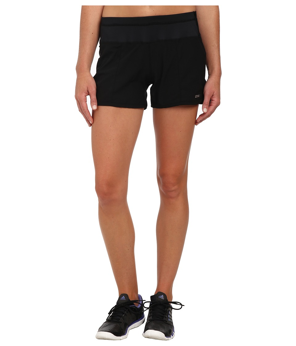 2XU - Cross Sport Short (Black/Black 2) Women's Shorts